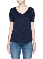 'Melrose Femme' V-neck T-shirt