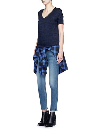 Figure View - Click To Enlarge - rag & bone/JEAN - 'Melrose Femme' V-neck T-shirt