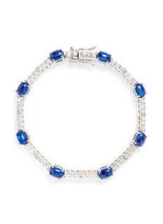 CZ by Kenneth Jay Lane Cubic zirconia cabochon bracelet