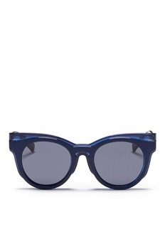 SELF-PORTRAIT x Le Specs 'Edition Three' acetate cat eye sunglasses