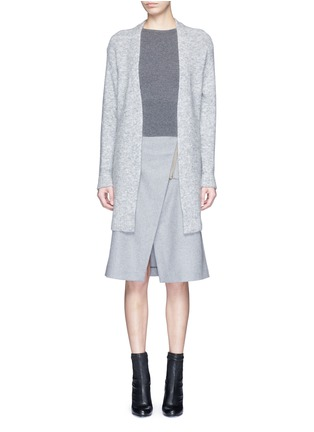 Main View - Click To Enlarge - Acne Studios - 'Raya' mohair blend cardigan