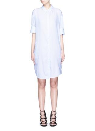 Main View - Click To Enlarge - Acne Studios - 'Lash' pinstripe poplin shirt dress
