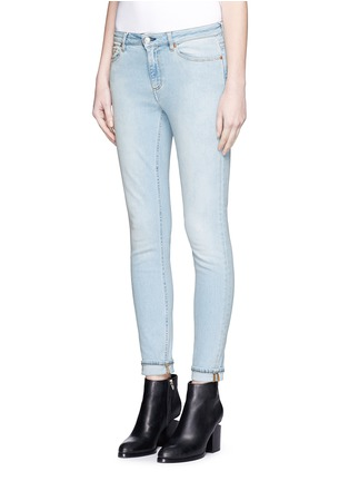 Front View - Click To Enlarge - Acne Studios - 'Skin 5' stretch cotton skinny jeans
