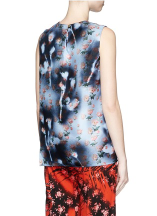 Back View - Click To Enlarge - Acne Studios - 'Gladis' sakura print silk shell top