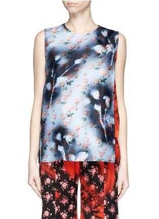 Main View - Click To Enlarge - Acne Studios - 'Gladis' sakura print silk shell top