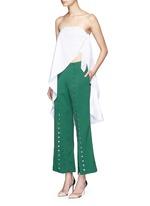 Side knot cotton sarong long top