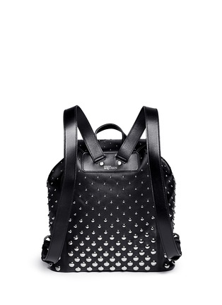 Back View - Click To Enlarge - Alexander McQueen - 'Padlock' stud leather backpack