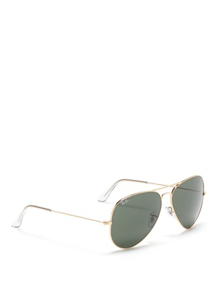 RAY-BAN-'Aviator Large Metal II' sunglasses