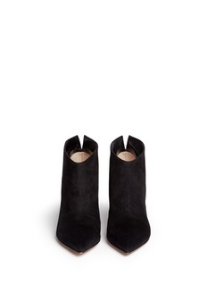GIANVITO ROSSI 'Kat' suede ankle booties