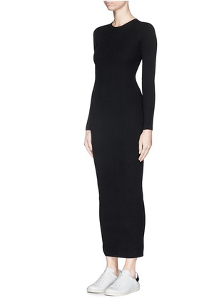 Front View - Click To Enlarge - Theory - 'Adrellana' wool-blend rib knit dress