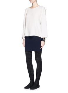 HELMUT LANGStretch crepe blouse