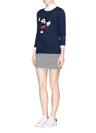 Figure View - Click To Enlarge - MARKUS LUPFER - x Disney 'Dancing Vintage Mickey' sequin sweater