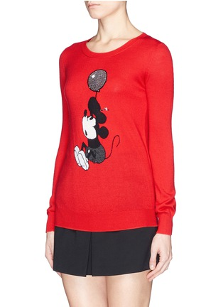 Front View - Click To Enlarge - MARKUS LUPFER - x Disney 'Up And Away Vintage Mickey' sweater