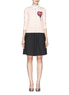 MARKUS LUPFER 'Dripping Heart' April cardigan