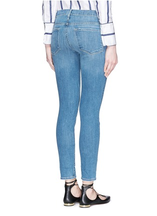 Back View - Click To Enlarge - Frame Denim - 'Le Skinny de Jeanne' cropped jeans
