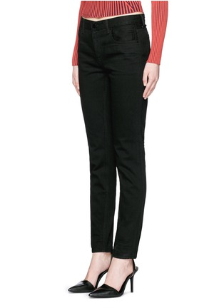 Front View - Click To Enlarge - T By Alexander Wang - 'WANG 002' relaxed jeans