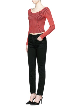 Figure View - Click To Enlarge - T By Alexander Wang - 'WANG 002' relaxed jeans