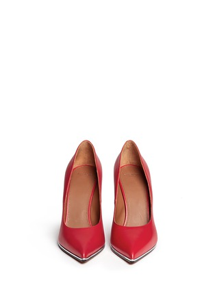 Figure View - Click To Enlarge - Givenchy - Calfskin leather pumps