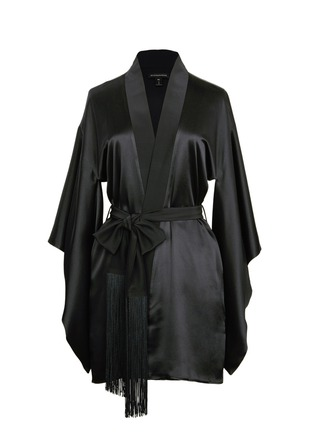 Main View - Click To Enlarge - Kiki De Montparnasse - 'Amour' silk kimono robe
