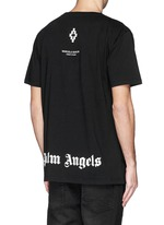 'Palm Angels' hands print T-shirt and book set