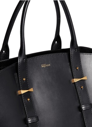 Detail View - Click To Enlarge - Alexander McQueen - 'Legend' medium east west leather tote