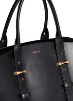 'Legend' medium east west leather tote