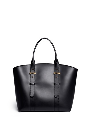 Back View - Click To Enlarge - Alexander McQueen - 'Legend' medium east west leather tote