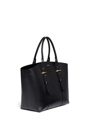 Figure View - Click To Enlarge - Alexander McQueen - 'Legend' medium east west leather tote