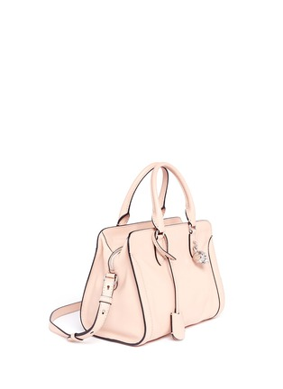 Figure View - Click To Enlarge - Alexander McQueen - 'Padlock' small leather tote