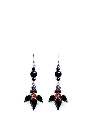 Main View - Click To Enlarge - Joomi Lim - 'Rebel Romance' pearl crystal drop earrings