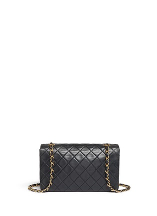 Back View - Click To Enlarge - Vintage Chanel - Quilted leather full flap bag