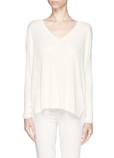 THEORY Sag Harbor Larlissa drop shoulder longsleeve tee