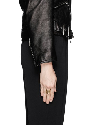 Figure View - Click To Enlarge - Givenchy Beauty - Metal buckle ring