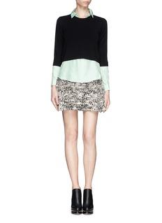 THEORY'Aquilina' silk blouse