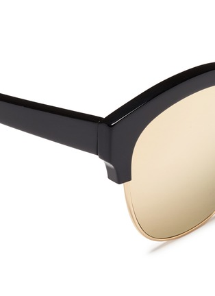 Detail View - Click To Enlarge - Spektre - 'Skyfall' acetate round mirror sunglasses