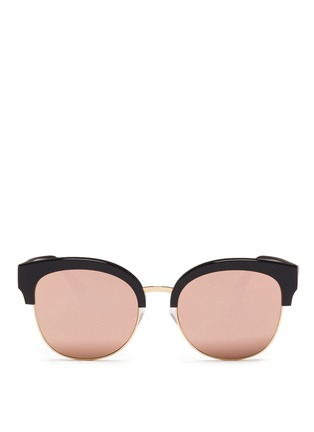 Main View - Click To Enlarge - Spektre - 'Skyfall' acetate round mirror sunglasses