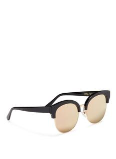 SPEKTRE SKYFALL板材拼接金属镜框太阳眼镜
