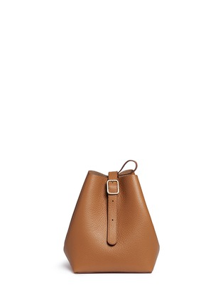 Detail View - Click To Enlarge - Creatures Of Comfort - 'Apple' small leather shoulder bag