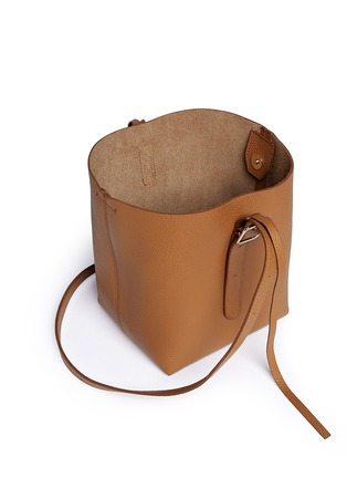 - Creatures Of Comfort - 'Apple' small leather shoulder bag