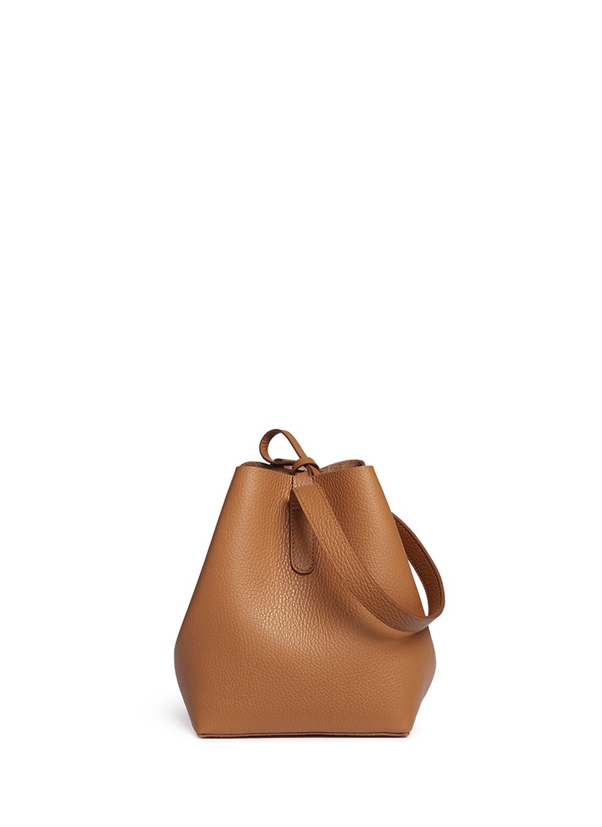 Apple small leather shoulder bag by Creatures Of Comfort