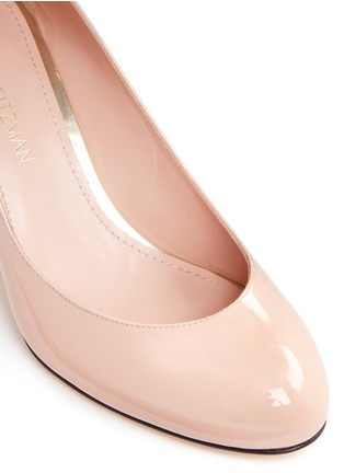 Detail View - Click To Enlarge - Stuart Weitzman - 'Moody' patent leather pumps