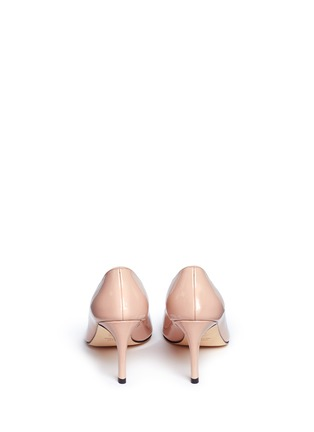 Back View - Click To Enlarge - Stuart Weitzman - 'Moody' patent leather pumps