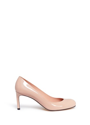 Main View - Click To Enlarge - Stuart Weitzman - 'Moody' patent leather pumps