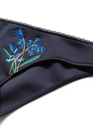 Detail View - Click To Enlarge - Stella McCartney - 'Botanical Embroidery' bikini bottoms