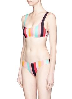 Solid & Striped'Elle' stripe bikini top