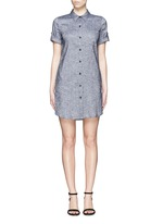 'Mayvine' linen chambray shirt dress