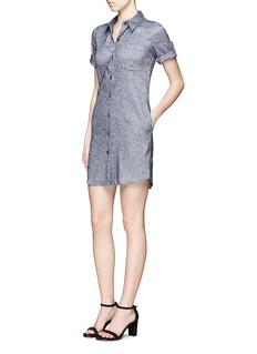 THEORY 'Mayvine' linen chambray shirt dress