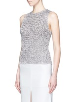 'Malda' chunky knit sleeveless sweater