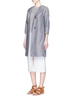 THEORY'Malda' chunky knit sleeveless sweater