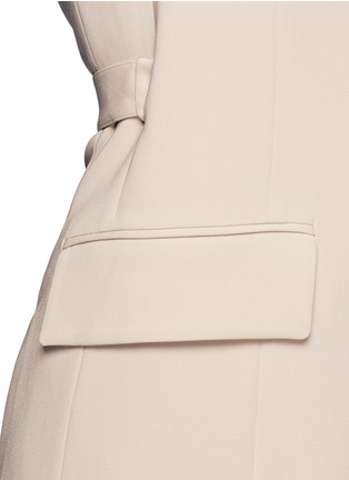 Detail View - Click To Enlarge - Theory - 'Livwilth' wrap front crepe dress